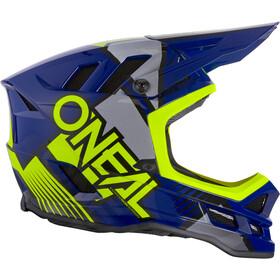 O'Neal Blade Polyacrylite Hjelm Delta, blue/neon yellow